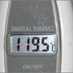 ワックスアイロンの温度は何度が適切?