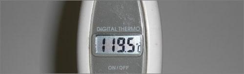 アイロンの温度