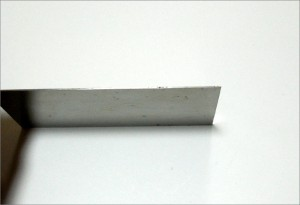 メタルスクレイパーの厚さ