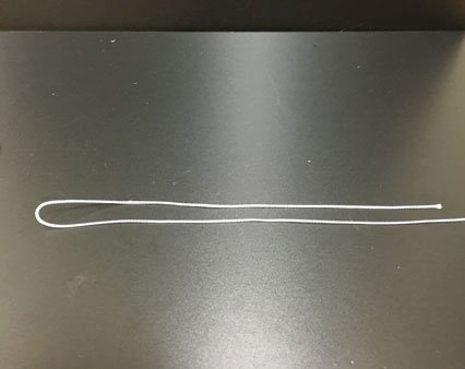 パロマーノットの結び方1