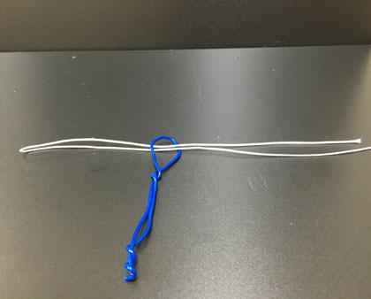 パロマーノットの結び方2