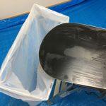 ワックスのゴミ対策-ゴミ袋ホルダーの自作