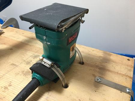 スクレーパーシャープナー電動化1