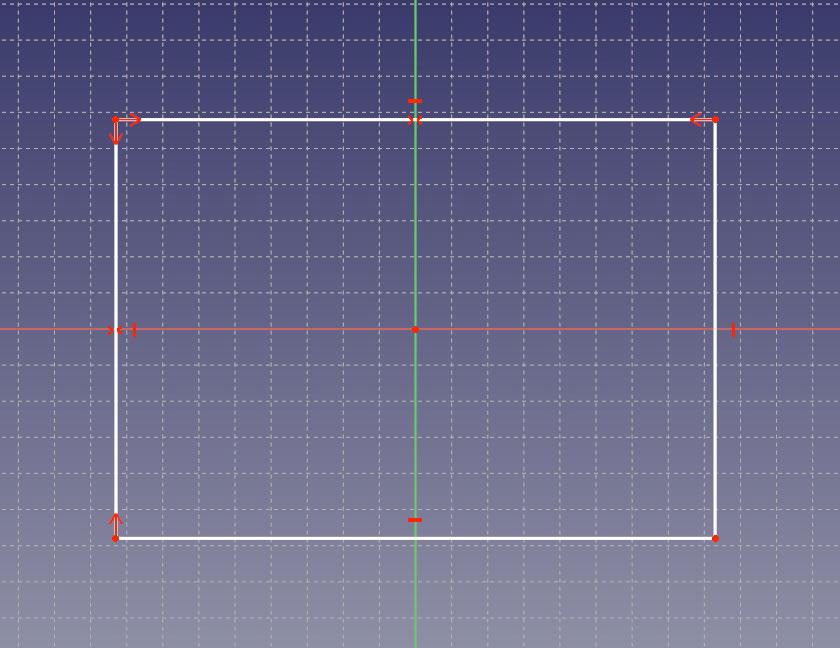 閉じた線形状を作成