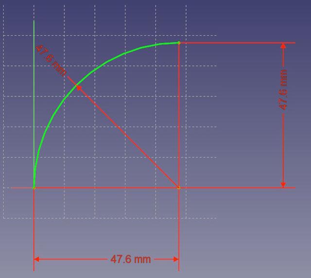円弧-拘束