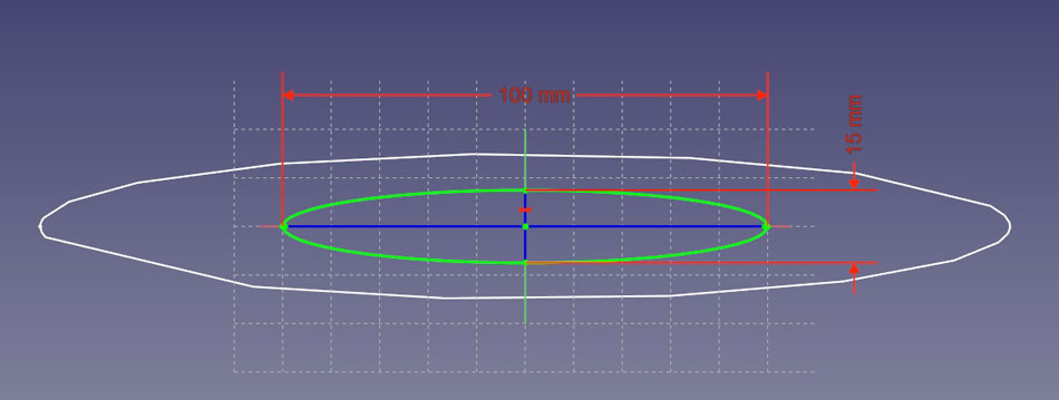 2つ目の楕円