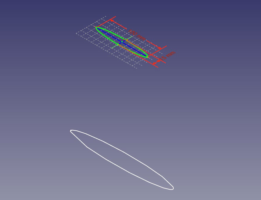 楕円の位置関係