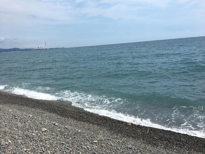 煙樹ヶ浜 ショアジギング 2017年 7月23日(午後の部)